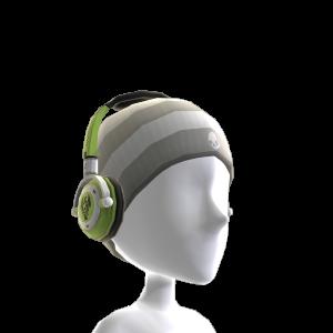 Lowrider Green-Blk Headphones