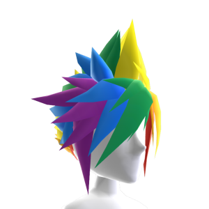 Pride Anime Hair