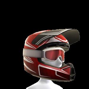 Motocross Helmet - Red