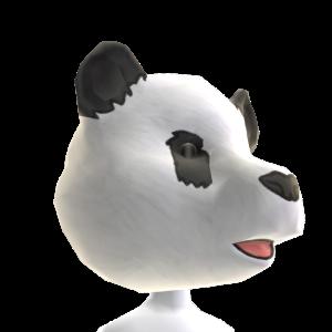 Panda Helmet