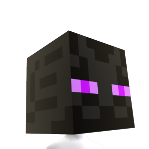 Minecraft Enderman 머리