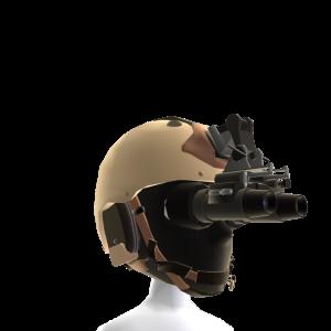 Desert Camo Night Vision Helmet