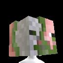 Hlava zombie pigmana