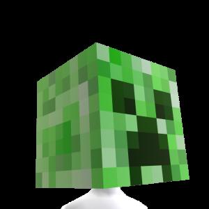 Minecraft Cabeça de Creeper