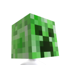 Minecraft Cabeza de Creeper