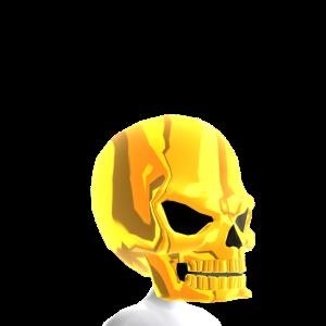 Epic Skull Helmet Solid Gold
