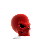 Red Skull Helmet