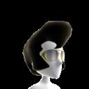 Tupé y gafas