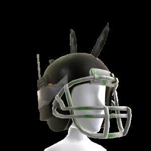 Zombie Battle Helmet - Black