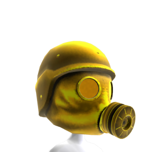 Gas Mask Gold 3