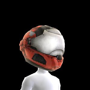 Security Helmet- Red