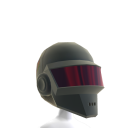 Silver Robot Helmet