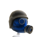 Gas Mask Blue 3