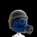 Gas Mask Blue 3