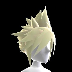 Anime Hero Hair - Blonde