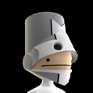 Grey Knight Helmet