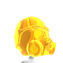 Epic Brite Gold Gas Mask 2