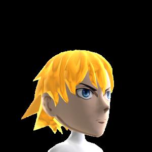 Anime Gold Hair