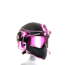 Battle Helmet - Pink Black