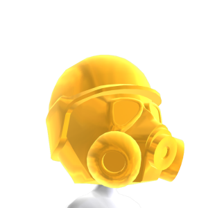 Epic Gold Gas Mask 2