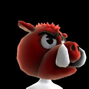 Arkansas Mascot Head