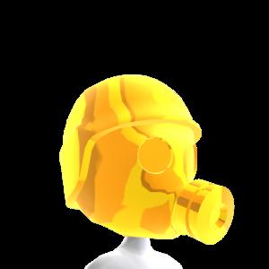 Epic Brite Gold Gas Mask 1