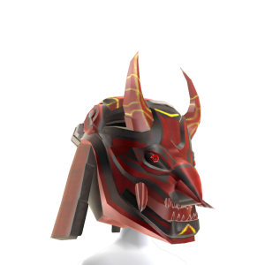 Ninja Fantasy Helmet - Red