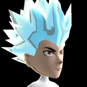 Anime Hero 4 Silver Chrome