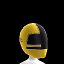 Samurai Yellow Ranger Helmet