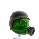 Gas Mask Green 3