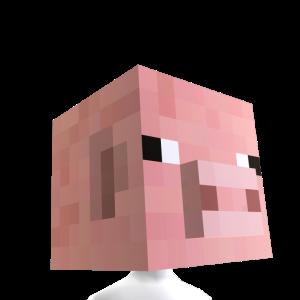 Minecraft Tête de cochon