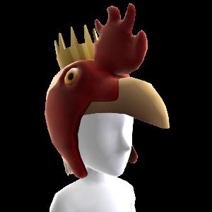 Hühner-Kopfteil