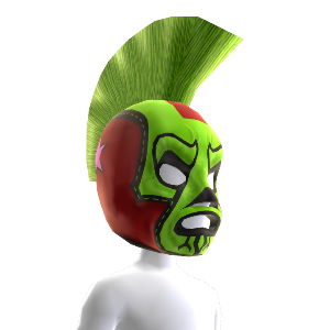 Luchador Lieutenant Mask