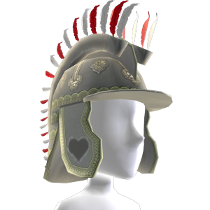 Sombrero de húsar con plumas