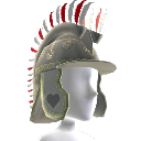 Hussar Helmet with Feathers