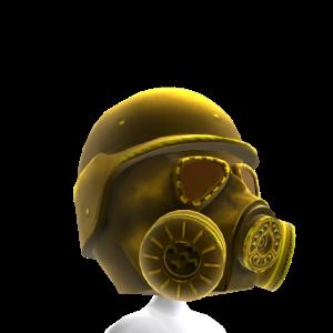 Gas Mask Gold 2 Helmet
