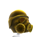 Gas Mask Gold 2 Helmet