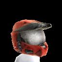 Mjolnir Mark VI Helmet- Red