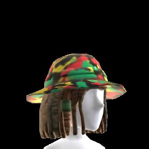 Rasta Camo Bucket Hat