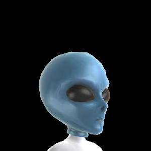 Máscara clásica de extraterrestre