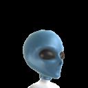 Klassische Alien-Maske