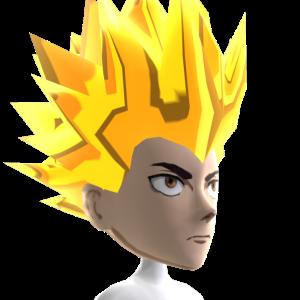 Anime Hero 4 Gold Chrome