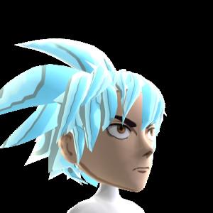 Epic Anime Hero 3 Silver Chrome