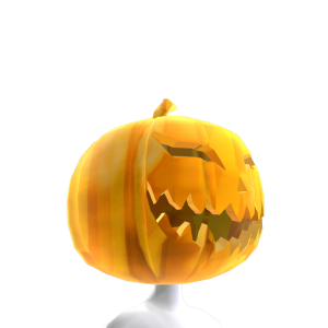 Dark Pumpkin Gold Head