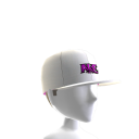 Tilted Hat - White