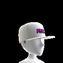 Tilted Hat - White