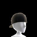 Backwards Baseball Cap - Black
