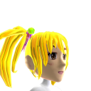 Anime Pigtails Gold Chrome