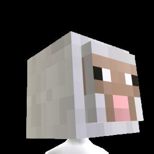 Tête de mouton Minecraft