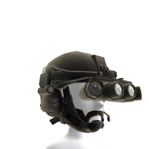 Black Helmet Beard